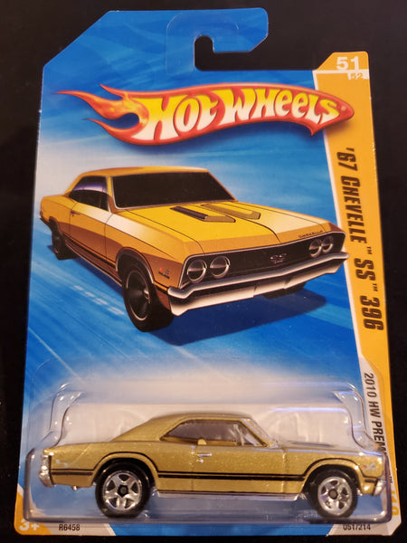 Hot Wheels - '67 Chevelle SS 396 - 2010