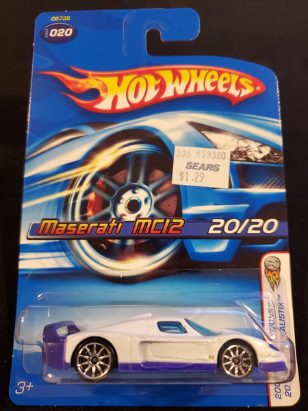Hot Wheels - Maserati MC12 - 2005