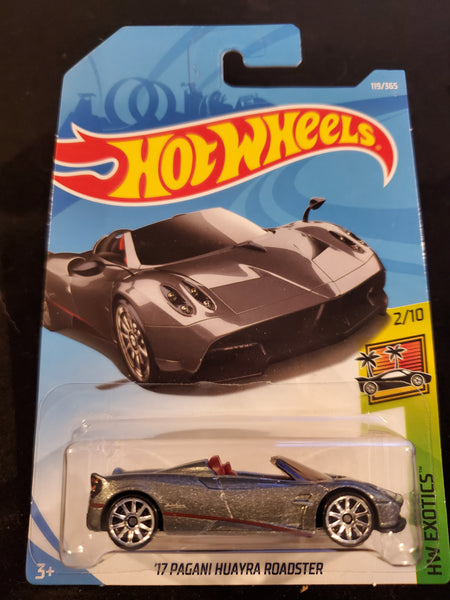 Hot Wheels - '17 Pagani Huayra Roadster - 2018