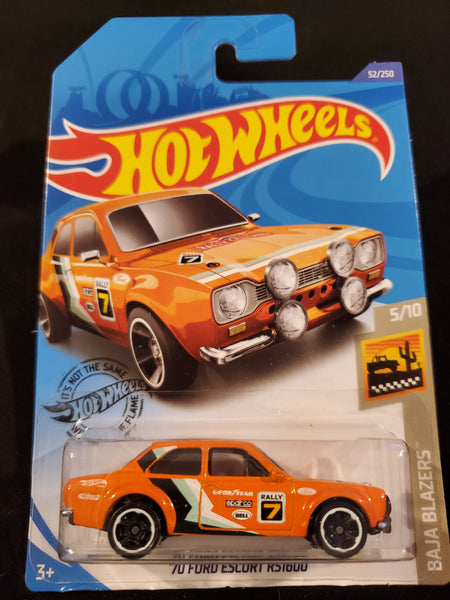 Hot Wheels - '70 Ford Escort RS1600 - 2020