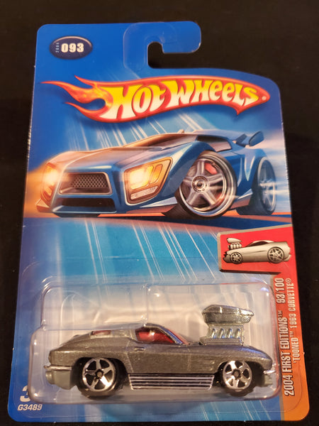 "Hot Wheels -""Tooned"" 1963 Corvette - 2004"