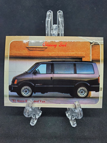 Collect-A-Card 1992 - 1991 Astro Extended Van
