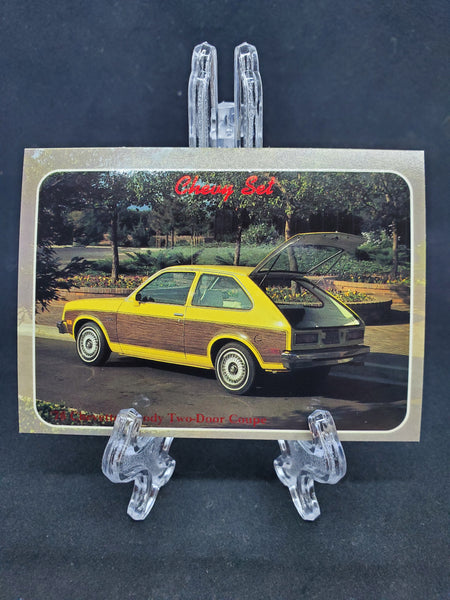 Collect-A-Card 1992 - 1976 Chevette Woody
