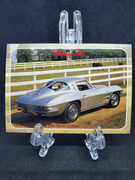 Collect-A-Card 1992 - 1963 Corvette Sting Ray - Top Collectibles