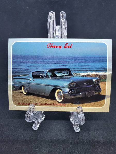 Collect-A-Card 1992 - 1958 Impala V-8 - Top Collectibles