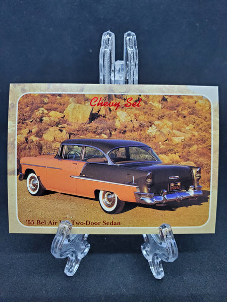 Collect-A-Card 1992 - 1955 Bel Air V-8 - Top Collectibles