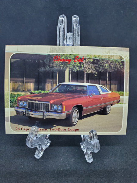 Collect-A-Card 1992 - 1974 Caprice Classic