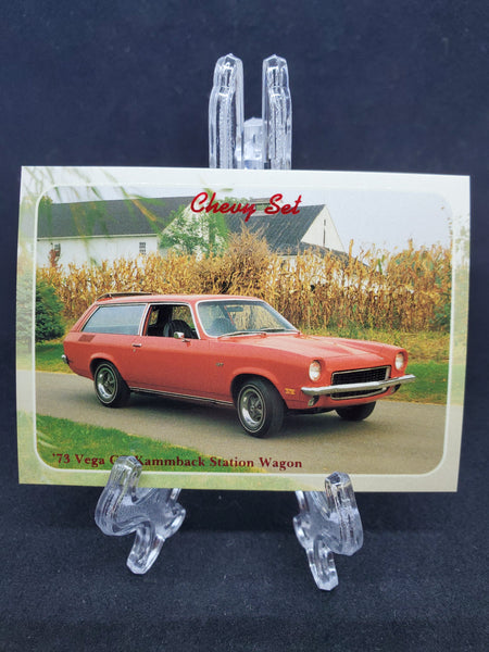 Collect-A-Card 1992 - 1973 Vega GT Kammback