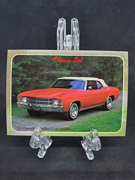 Collect-A-Card 1992 - 1971 Chevelle Malibu Convertible