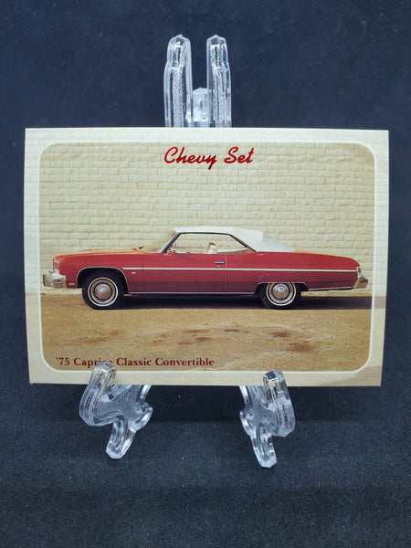 Collect-A-Card 1992 - 1975 Caprice Classic
