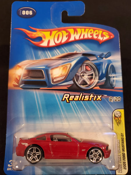 Hot Wheels - 2005 Ford Mustang GT - 2005