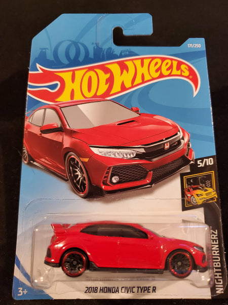 Hot Wheels - 2018 Honda Civic Type R - 2019