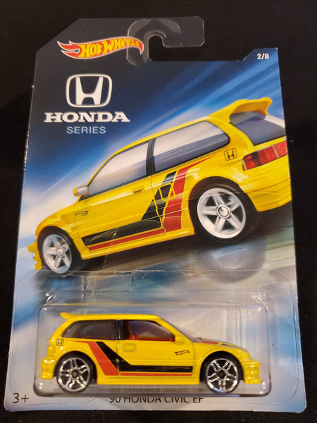 Hot Wheels - '90 Honda Civic EF - 2018 Honda 70th Anniversary Series