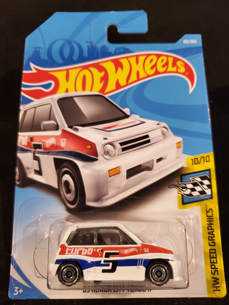 Hot Wheels - '85 Honda City Turbo II - 2018