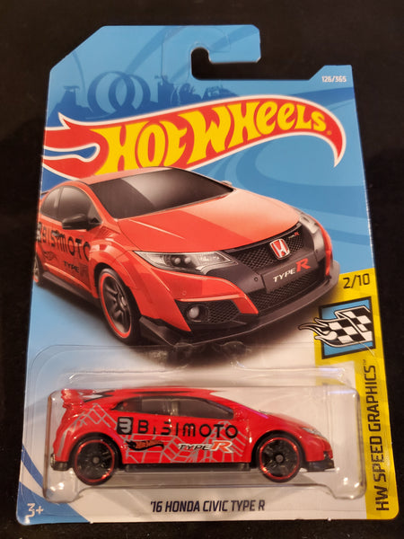 Hot Wheels - '16 Honda Civic Type R - 2018