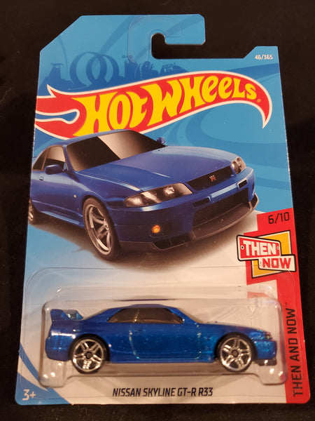 Hot Wheels - Nissan Skyline GT-R R33 - 2018