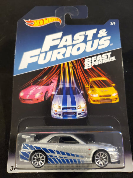 Hot Wheels - Nissan Skyline GT-R (R34) - 2017 Fast & Furious Series