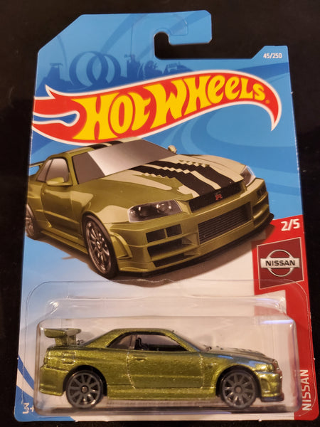 Hot Wheels - Nissan Skyline GT-R (BNR34) - 2019