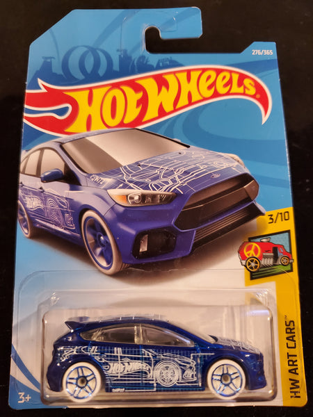 Hot Wheels- Ford Focus RS - 2018