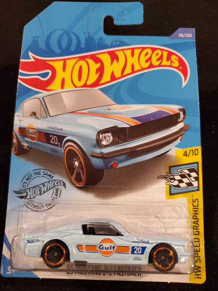 Hot Wheels - '65 Mustang 2+2 Fastback - 2020
