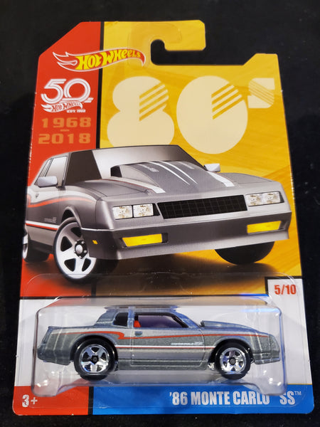 Hot Wheels - '86 Monte Carlo SS - 2018 50th Anniversary Throwback Series