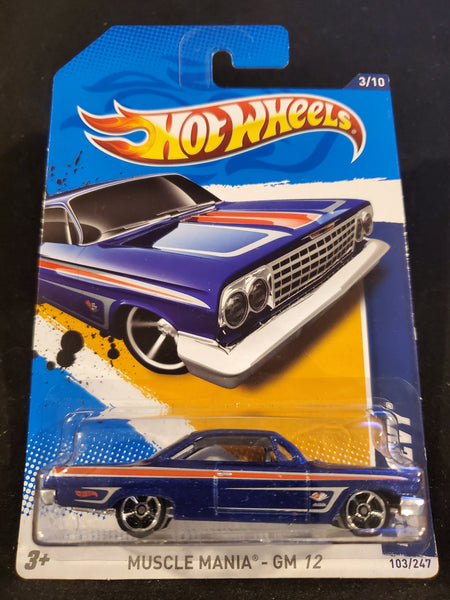 Hot Wheels -'62 Chevy - 2012