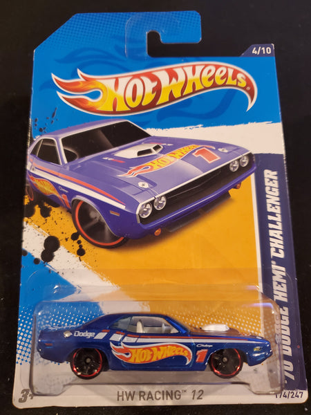 Hot Wheels - '70 Dodge HEMI Challenger - 2012