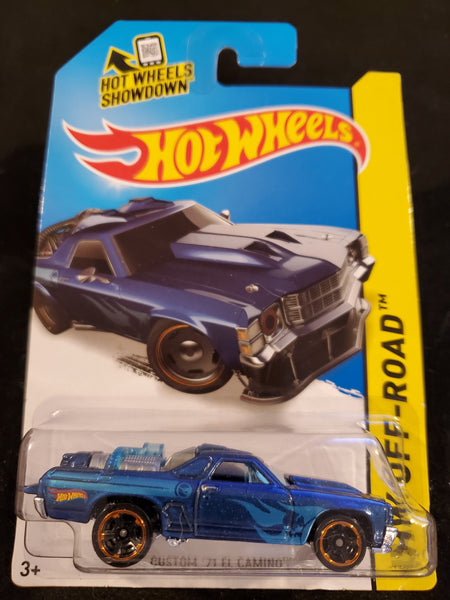 Hot Wheels - Custom '71 El Camino - 2014 *Treasure Hunt*