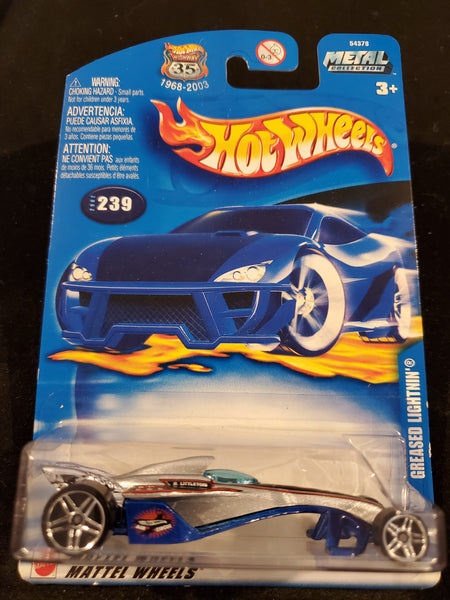 Hot Wheels - Greased Lightnin - 2002