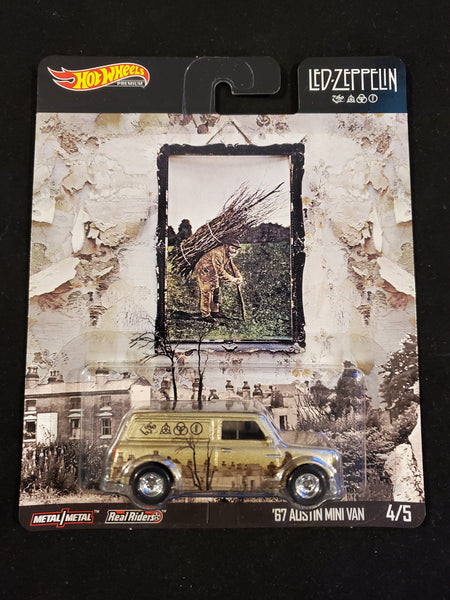 Hot Wheels - '67 Austin Mini Van - 2020 Led Zeppelin Series