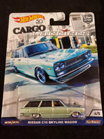 Hot Wheels - Nissan C10 Skyline Wagon - 2018 Cargo Carriers Series