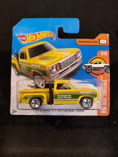 Hot Wheels - 1978 Dodge Lil' Red Express Truck - 2017 - Top Collectibles