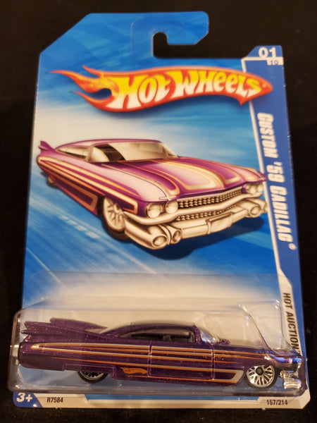 Hot Wheels - Custom '59 Cadillac - 2010 - Top Collectibles