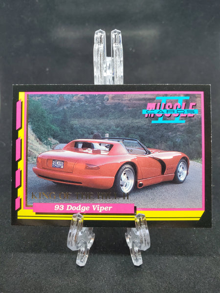 Muscle Cards II - '93 Dodge Viper - Top Collectibles
