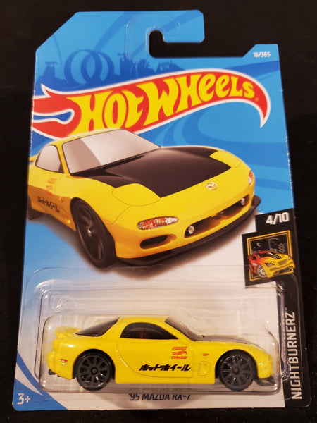 Hot Wheels - '95 Mazda RX-7 - 2018 - Top Collectibles