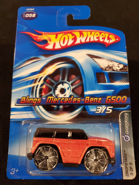 Hot Wheels - Bling Mercedes-Benz G500 - 2006 - Top Collectibles