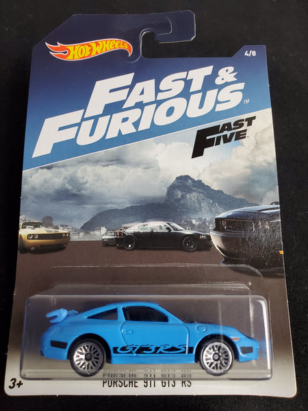Hot Wheels - Porsche 911 GT3 RS - 2017 Fast & Furious Series