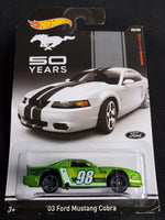 Hot Wheels - '03 Ford Mustang Cobra - 2014 50 Years Series