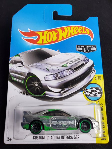 Hot Wheels - Custom '01 Acura Integra GSR - 2017 *Zamac*