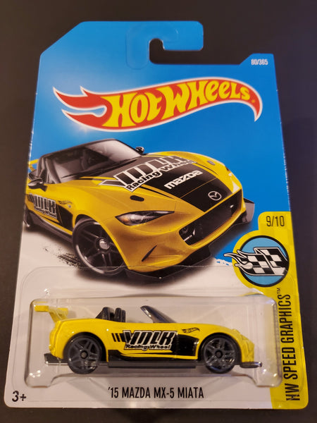Hot Wheels - '15 Mazda MX-5 Miata - 2017