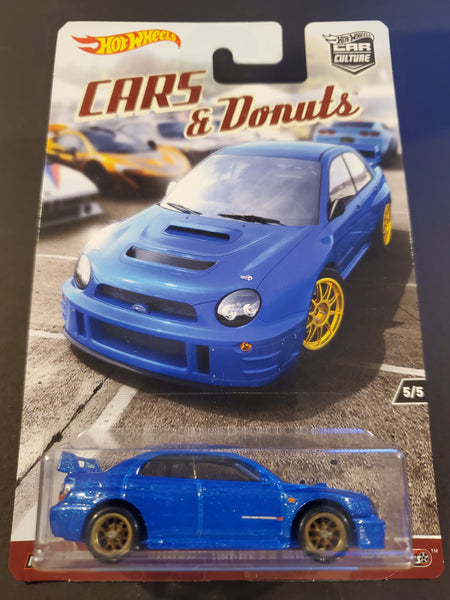 Hot Wheels - Subaru Impreza WRX - 2017 Cars & Donuts Series