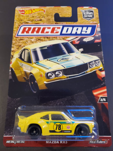 Hot Wheels - Mazda RX3 - 2017 Race Day Series