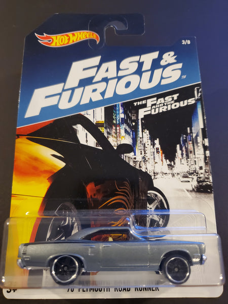 Hot Wheels - '70 Plymouth Road Runner - 2017 Fast & Furious Series