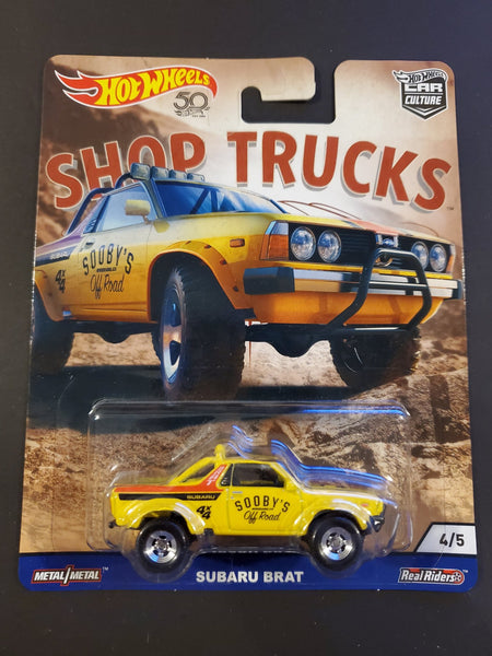 Hot Wheels - Subaru Brat - 2018 Shop Trucks Series