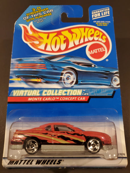 Hot Wheels - Monte Carlo Concept Car - 2000