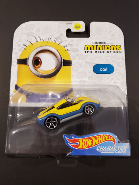 Hot Wheels - Carl - 2020 Minions the Rise of Gru Character Cars