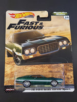 Hot Wheels - '72 Ford Gran Torino Sport - 2020 F&F Motor City Muscle Series