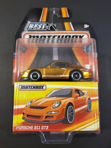 Matchbox - Porsche 911 GT3 - 2017 Best Of Matchbox Series