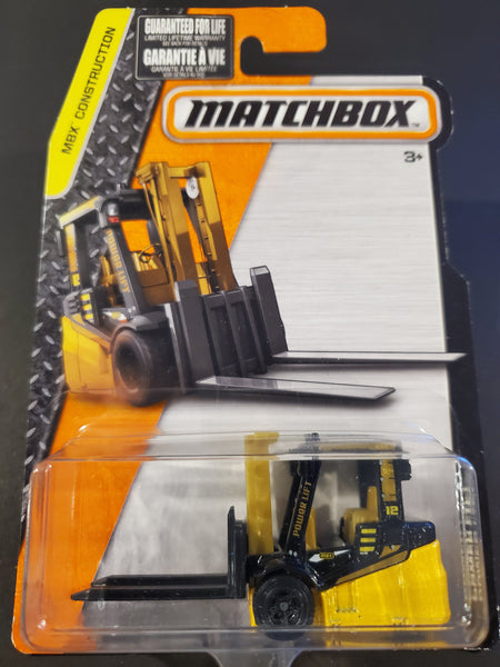Matchbox -  Power Lift  - 2016
