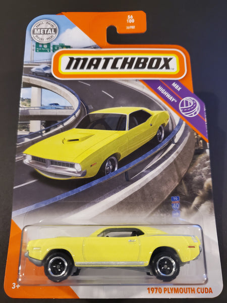 Matchbox -  1970 Plymouth Cuda - 2020